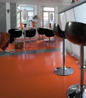 Noppe Stud Tile - Rubber Flooring