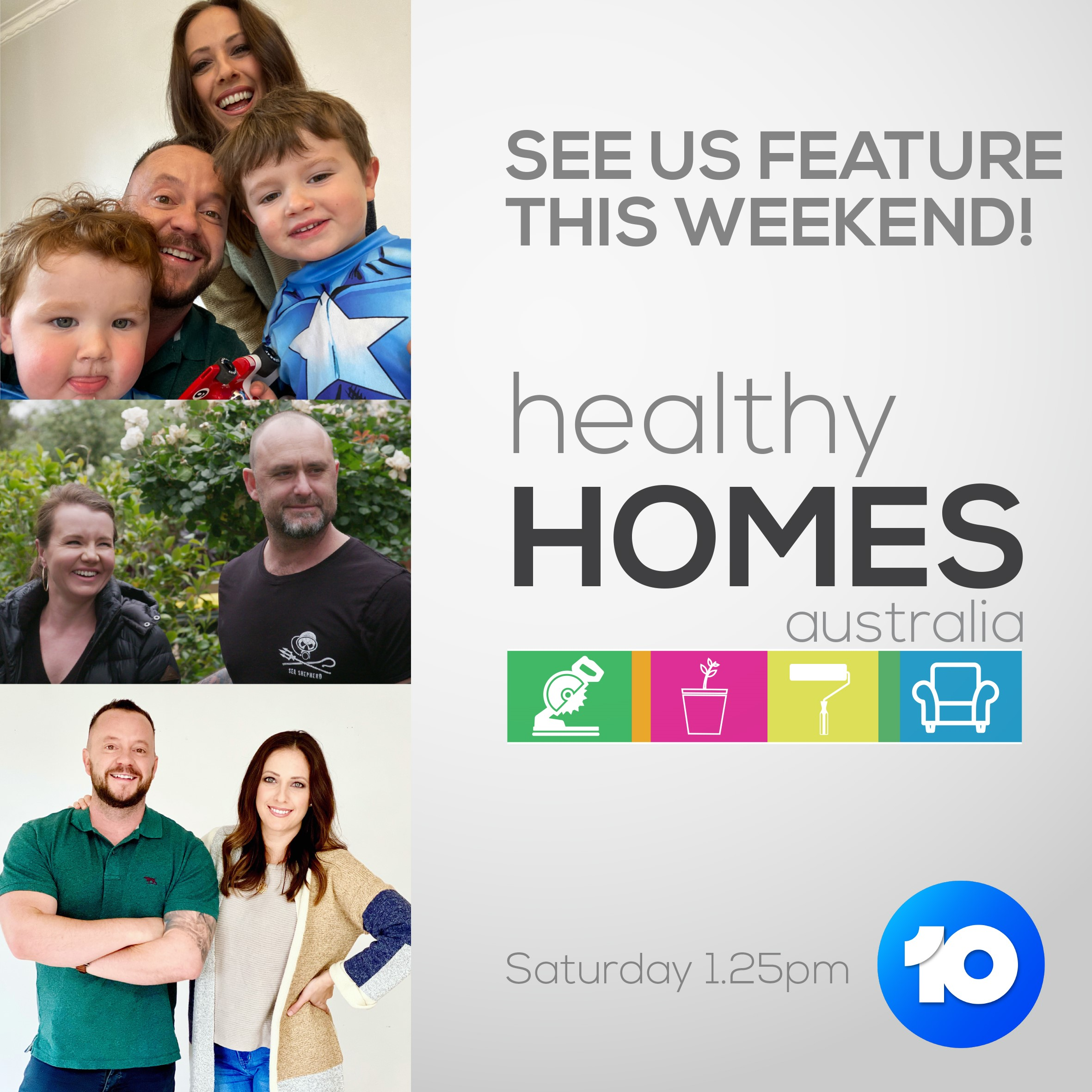 Healthy Homes Australia- Jess and Benn