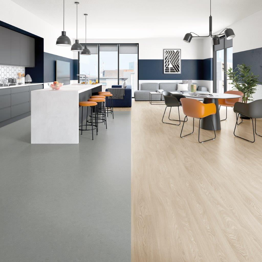 Polyflor launches New Polysafe Stone fx - safety flooring collection